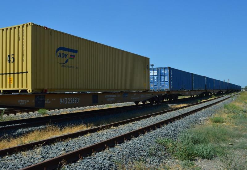 В Азербайджане зафиксирован рост грузоперевозок по железным дорогам