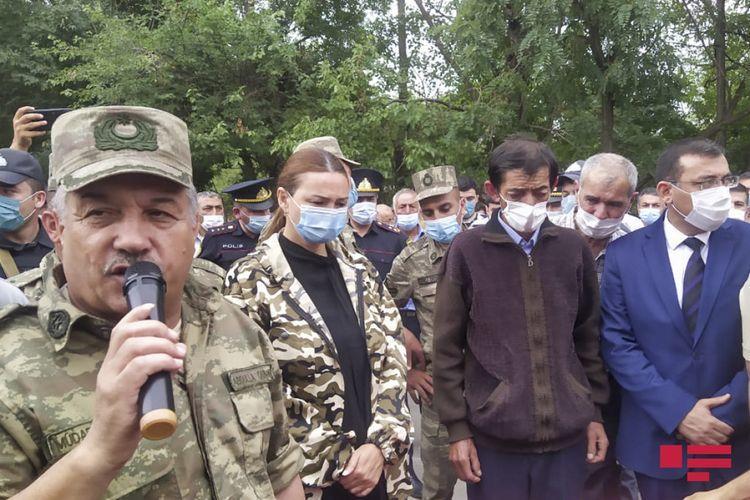 Azərbaycan Ordusunun şəhid olan hərbçisi Tovuzda dəfn edilib
