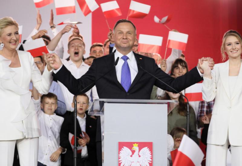 Действующий президент Польши выиграл выборы
