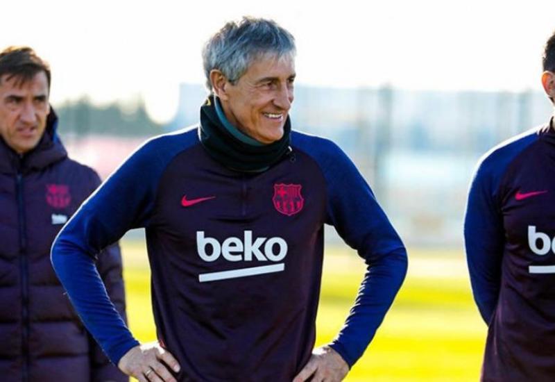 «Барселона» намерена оставить Сетьена главным тренером на следующий сезон