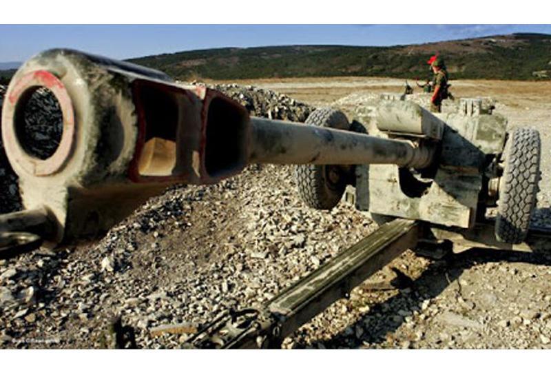 Ermənistan silahlı bölmələri Tovuzun kəndlərini topdan atəşə tutub