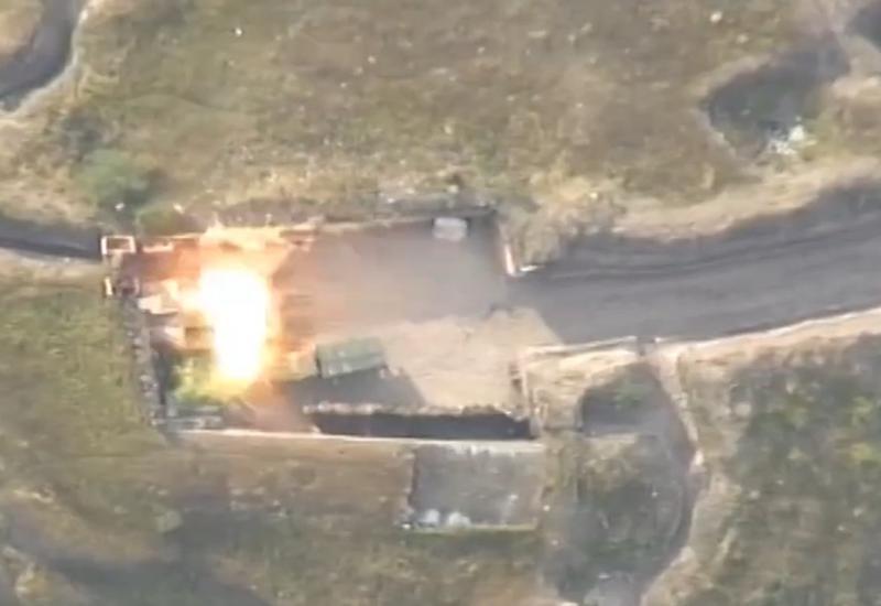 Азербайджанская армия нанесла удары по опорному пункту армян, уничтожена живая сила