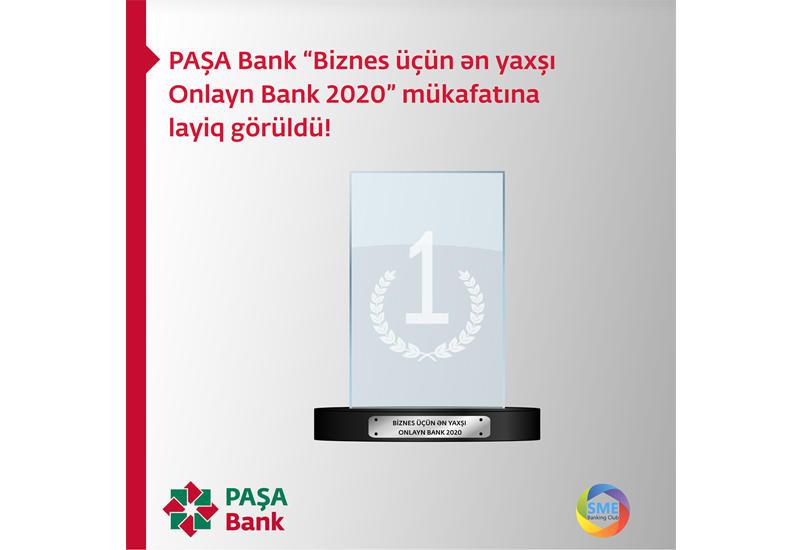 PAŞA Bank nüfuzlu mükafata layiq görüldü (R)
