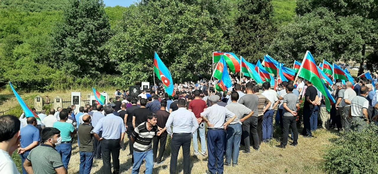 Ставший шехидом военнослужащий азербайджанской армии предан земле в родном Исмаиллы