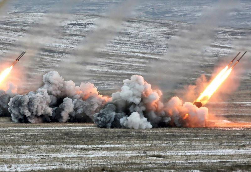 Армяне обстреляли город Тертер из артиллерии