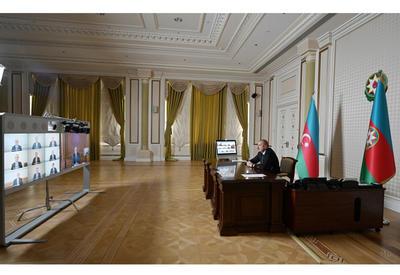 Под председательством Президента Ильхама Алиева состоялось заседание Кабинета Министров, посвященное итогам социально-экономического развития в первом полугодии 2020 года и предстоящим задачам  - ФОТО - ВИДЕО