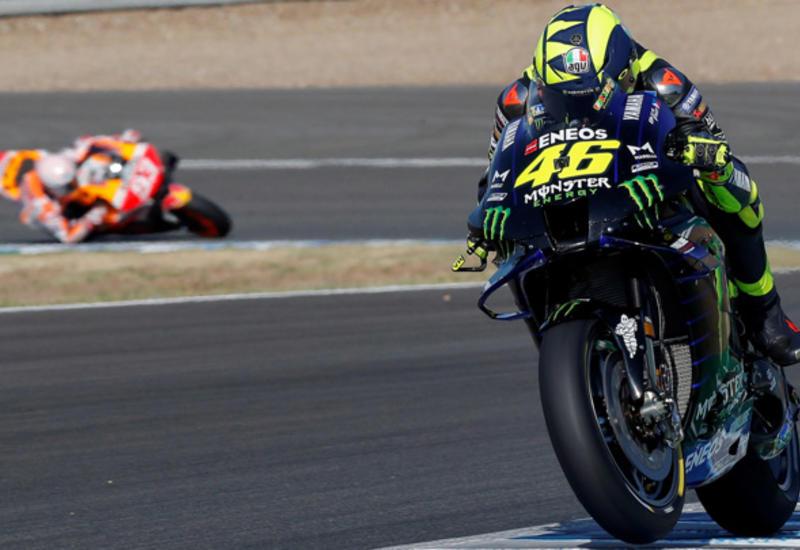 Мотоцикл чемпиона мира попал в аварию на Гран-при Испании