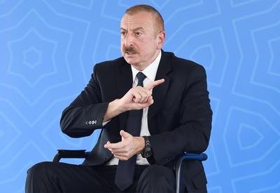 Президент Ильхам Алиев - Пашиняну: В то время ОДКБ была плохой, ты оскорблял ее, а сейчас умоляешь ее о помощи. Сражайся с нами один на один, посмотрим, чья возьмет