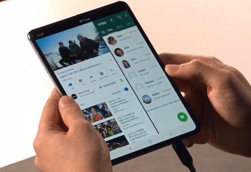 Стала известна дата презентации нового складного смартфона Samsung