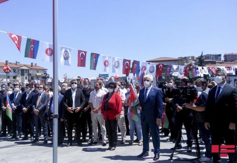 В Турции продолжаются акции в поддержку Азербайджана