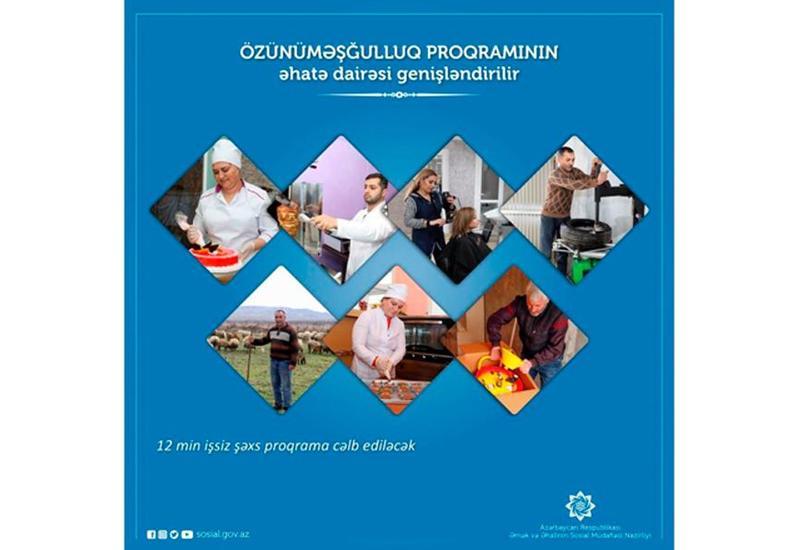 Программой самозанятости в Азербайджане будут охвачены 12 тысяч безработных