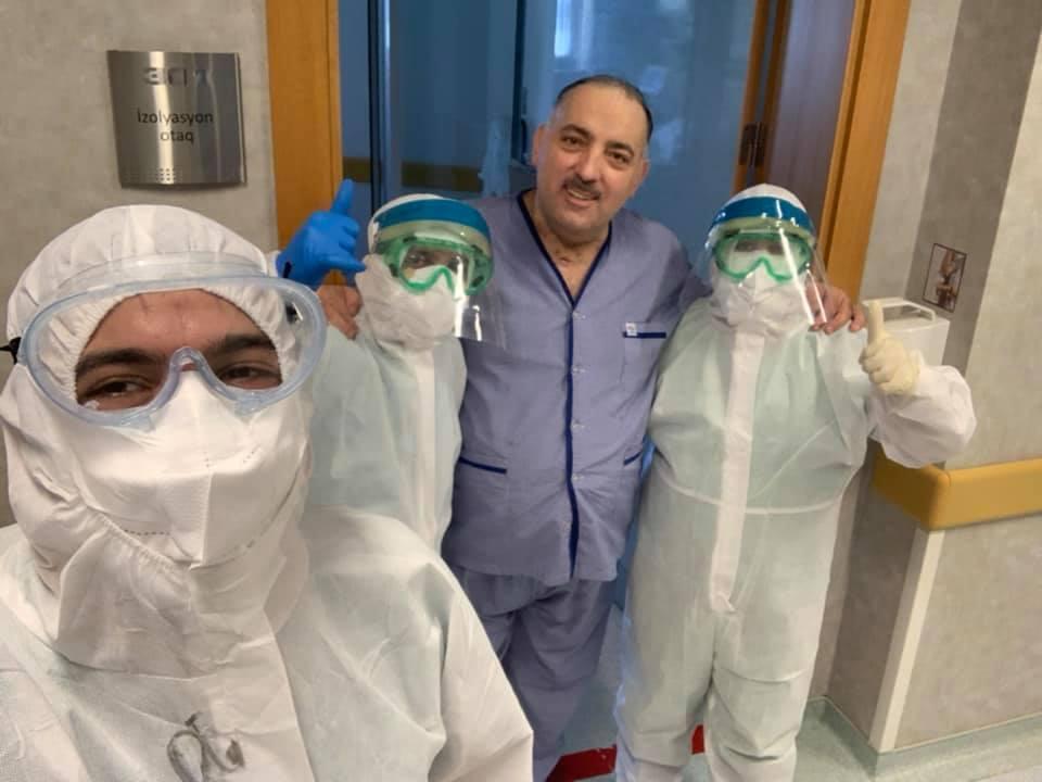 Бахрам Багирзаде опубликовал фото из больницы