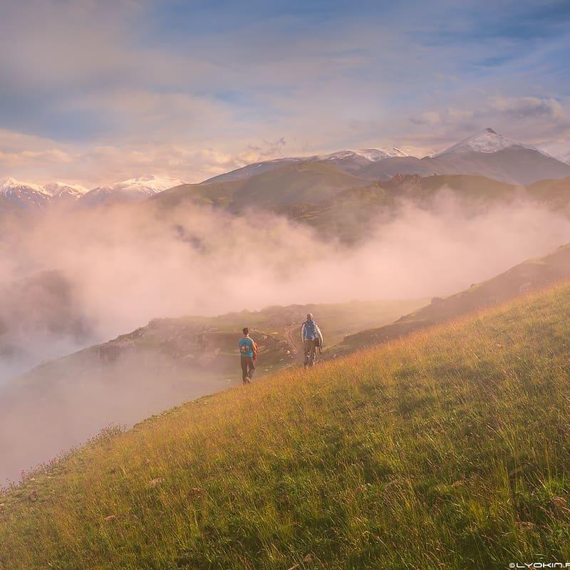 Необычное горное село в Азербайджане