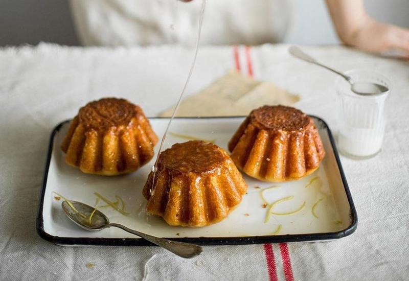 Рецепт ромовых баб с мороженым от Олеси Куприн