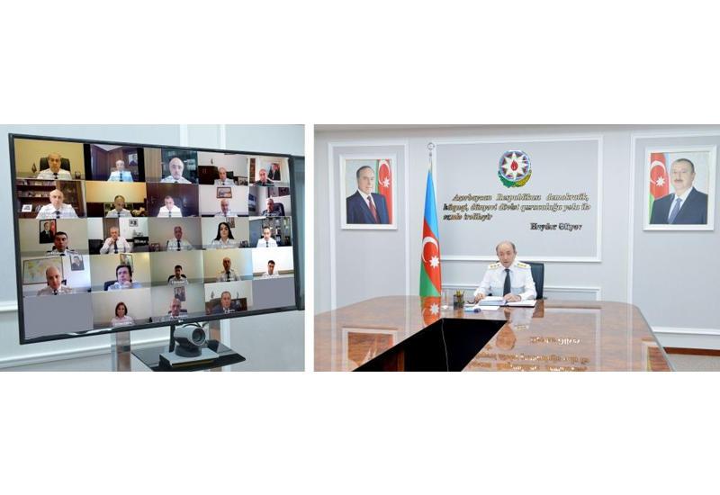 В Минюсте проведено расширенное заседание коллегии в формате видеоконференции