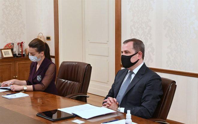 Джейхун Байрамов принял посла Индонезии в связи с завершением его дипмиссии