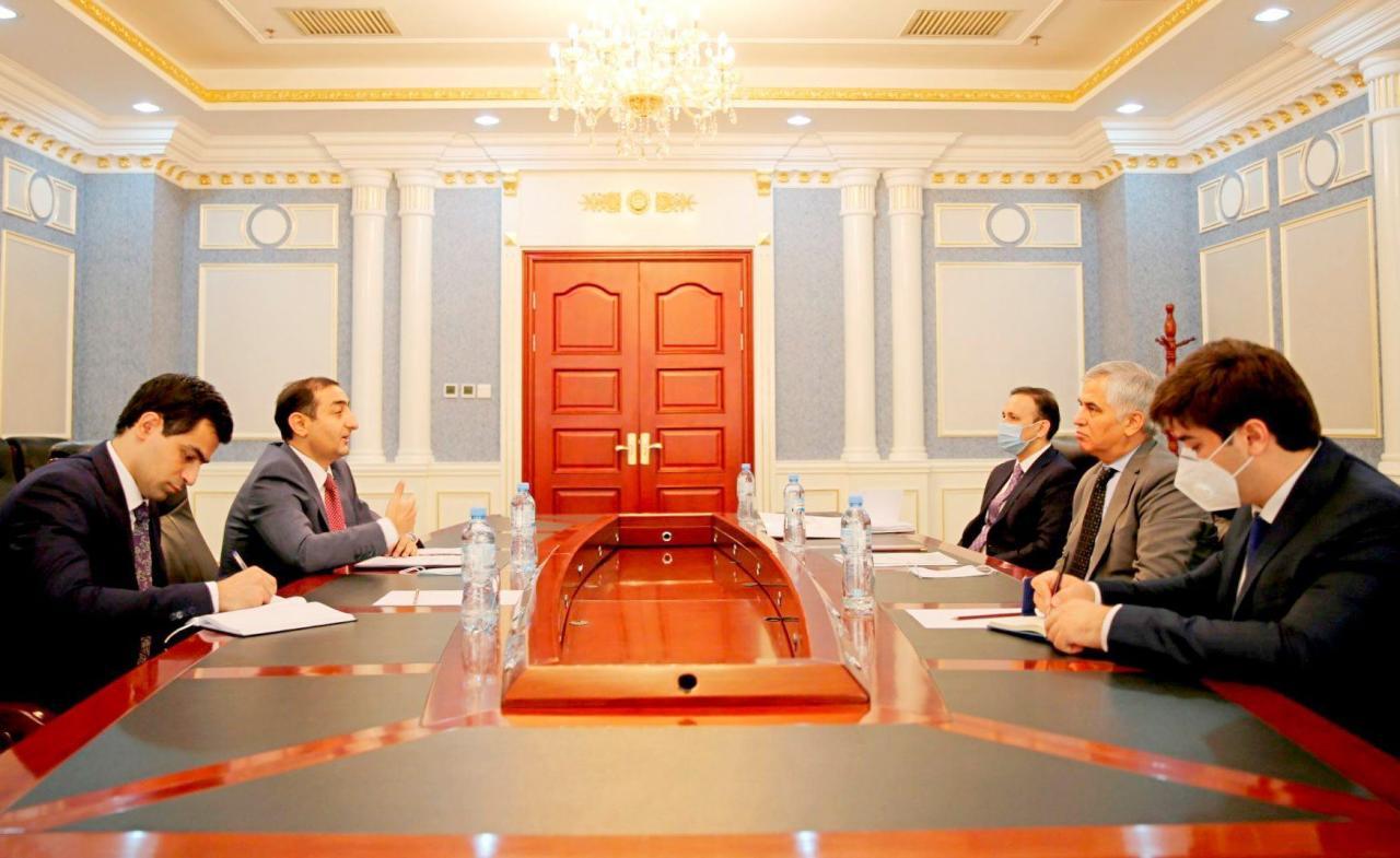 Посол Азербайджана встретился с замглавы МИД Таджикистана
