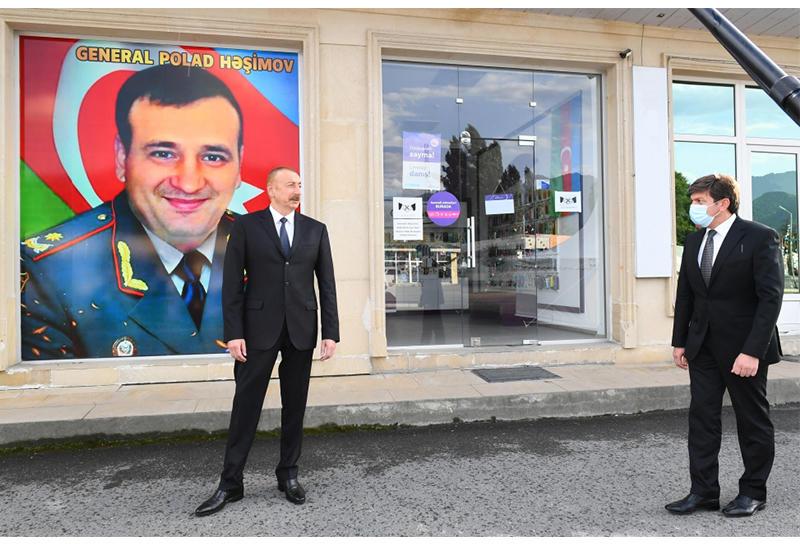 Президент Ильхам Алиев поручил назвать улицу именем генерала Полада Гашимова