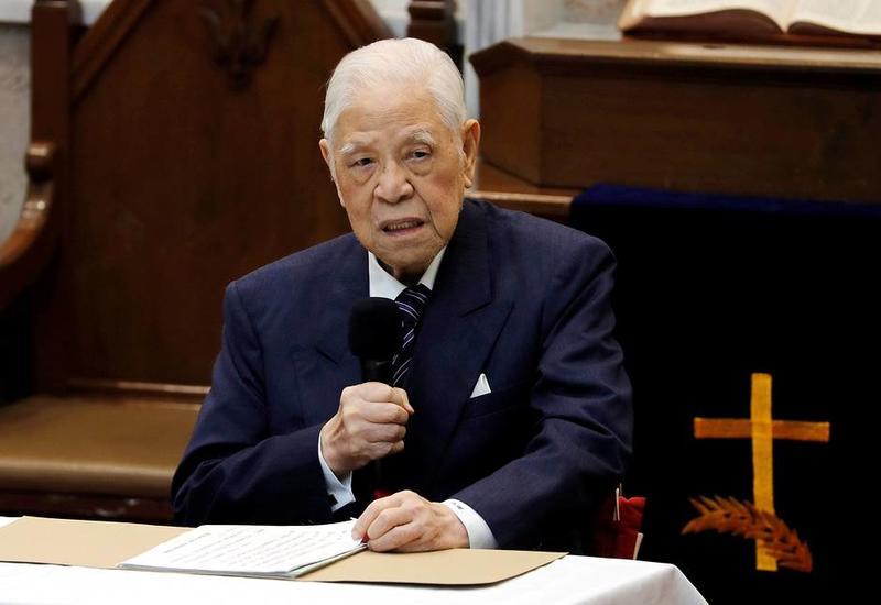 Умер бывший глава Тайваня Ли Дэнхуэй