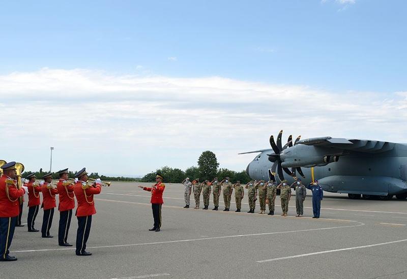 Представители ВВС Турции прибыли в Гянджу
