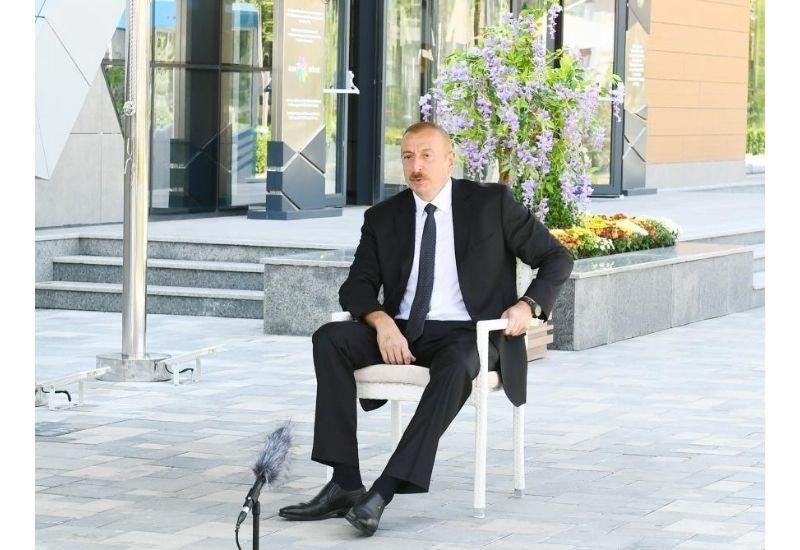 Президент Ильхам Алиев: Комплексный подход позволяет добиться сегодня стремительного развития нашей страны