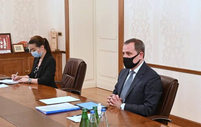 Джейхун Байрамов обсудил вопросы сотрудничества с послом США