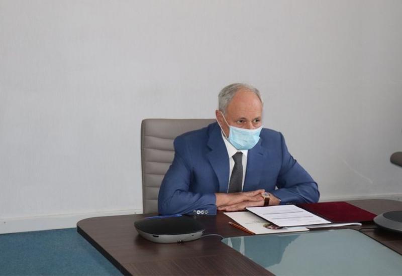 Огтай Ширалиев провел видеоконференцию с миссией ВОЗ в Азербайджане