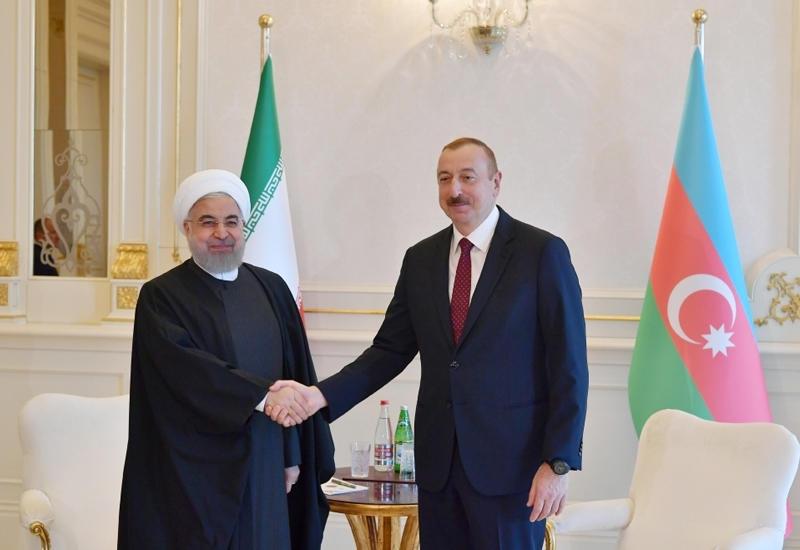 Президент Ильхам Алиев позвонил Президенту Хасану Рухани