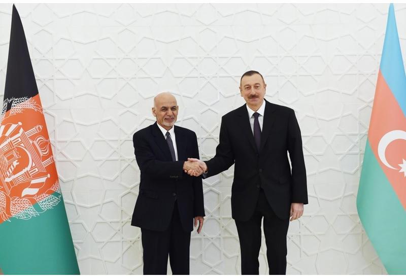 Президент Афганистана позвонил Президенту Ильхаму Алиеву