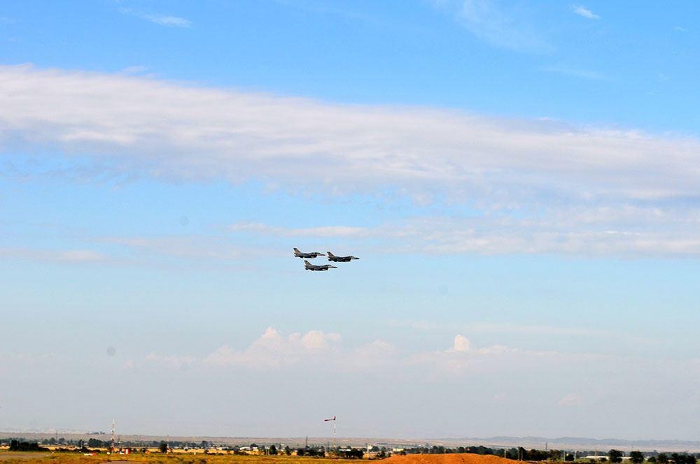 Истребители F-16 ВВС Турции прибыли в Азербайджан