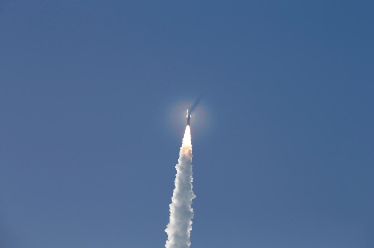 NASA успешно запустило ракету с марсоходом