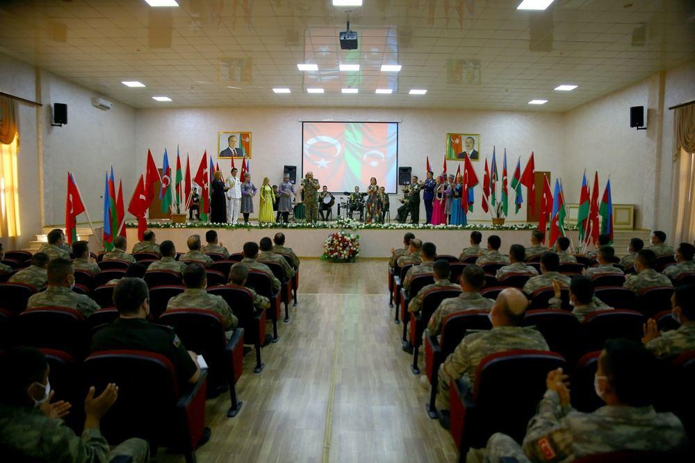 Состоялась торжественная церемония под девизом «Азербайджано-турецкое братство вечно и нерушимо»