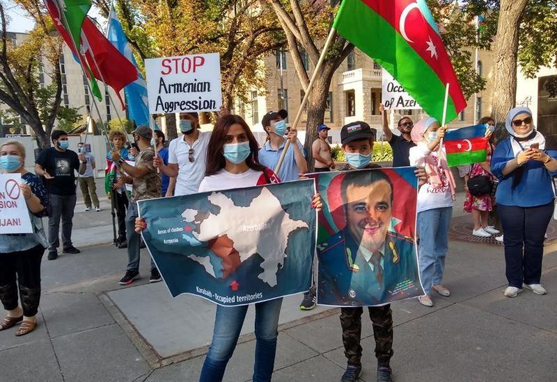 Azərbaycan diasporu vahid qüvvə kimi Azərbaycan ordusunun gücünə güc qatdı