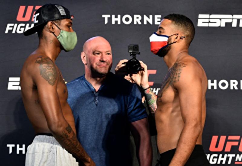 Боец UFC упал в обморок перед выходом в октагон