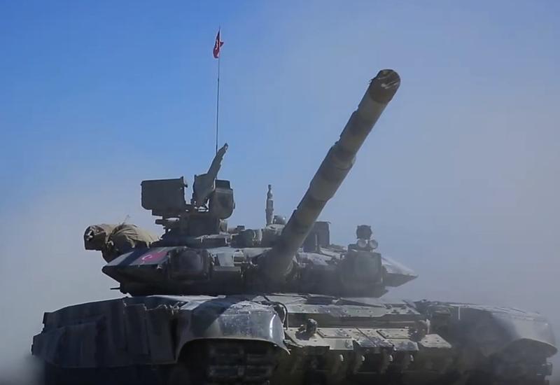 Продолжаются азербайджано-турецкие совместные широкомасштабные тактические учения