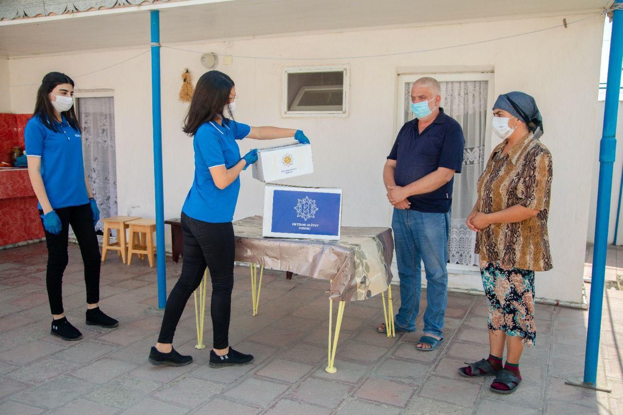 Фонд Гейдара Алиева передал праздничные паи более 100 тысячам малообеспеченных семей
