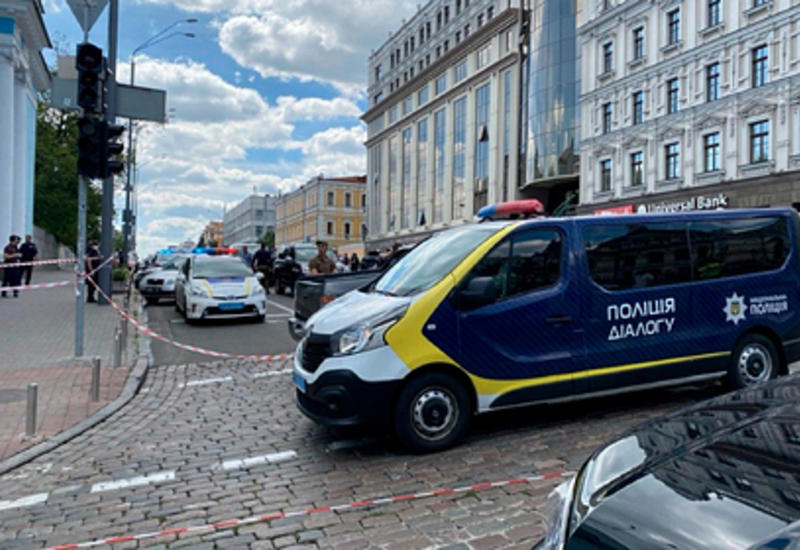 Раскрыта личность захватившего банк в Киеве террориста