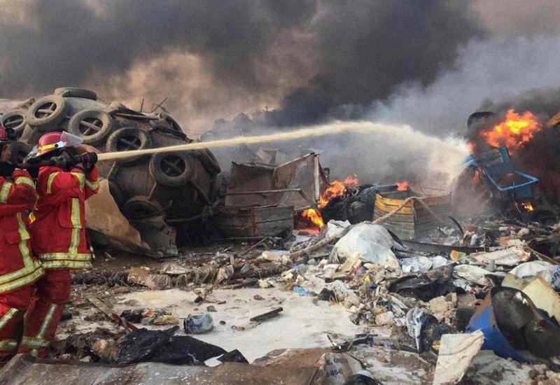 В результате взрыва в Ливане погибли 40 человек