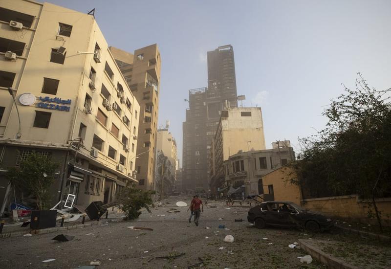 Взрыв в Бейруте разрушил квартал с армянами, повреждено посольство Армении
