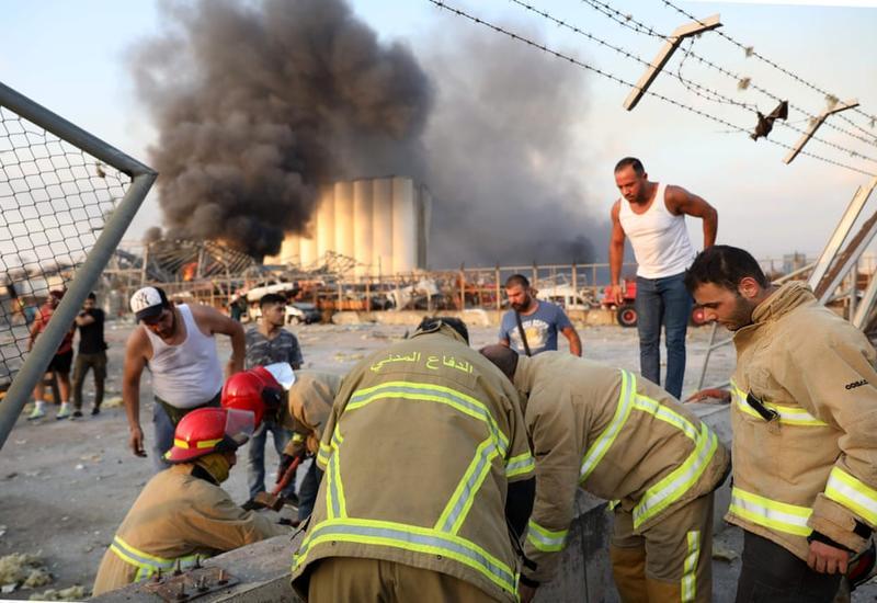 Взрыв в Бейруте эквивалентен сильному землетрясению