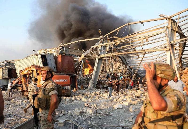 В МВД Ливана пока не знают основную причину взрыва в Бейруте