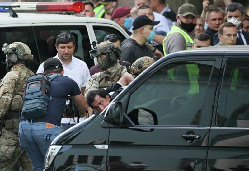 Кадры задержания киевского террориста