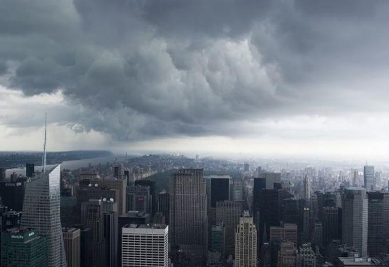 В Нью-Йорке объявили штормовое предупреждение