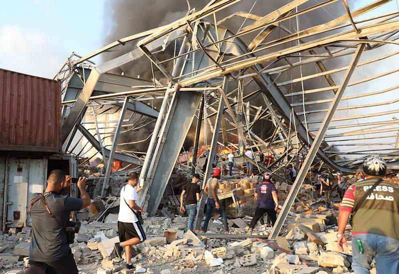 Около 4 тыс. домов разрушены в Бейруте в результате взрыва в порту