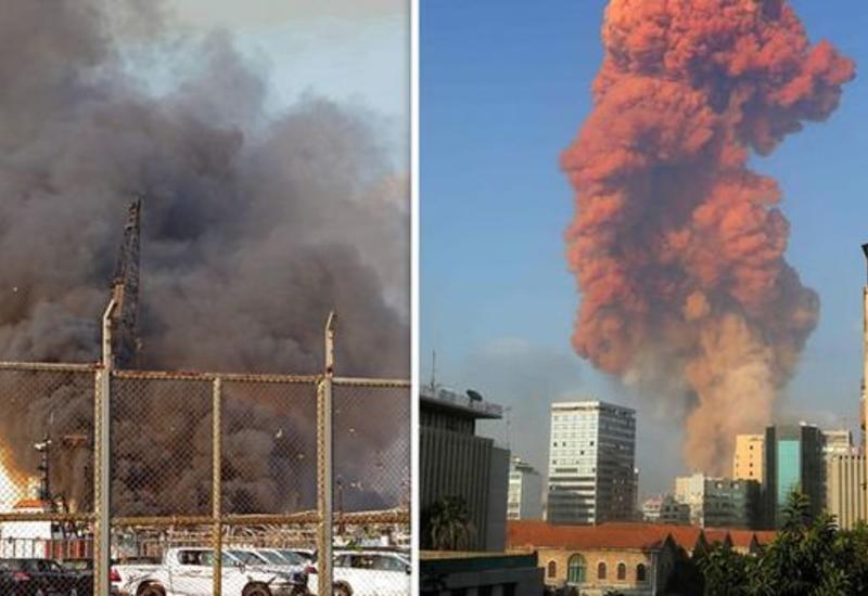 Чудовищный взрыв в Бейруте