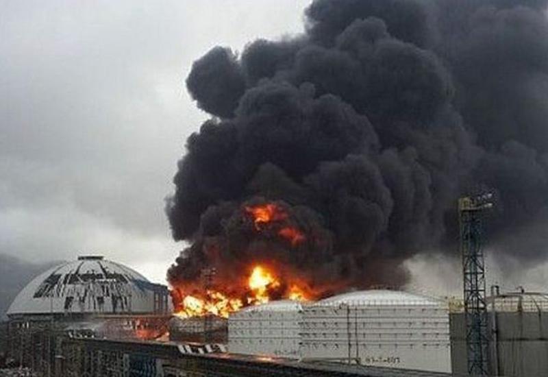 Сильный взрыв на химзаводе в Китае, есть погибшие