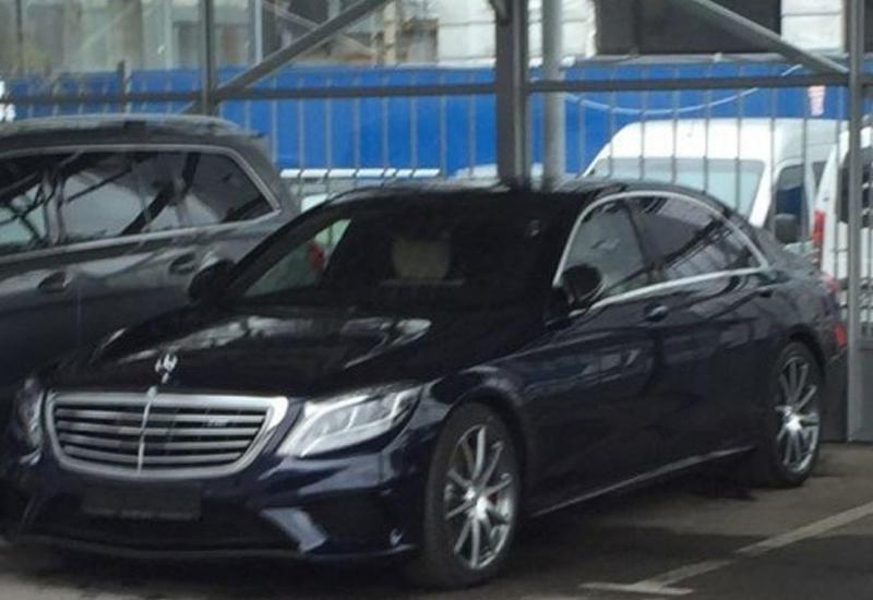 В Москве задержали Mercedes Кокорина