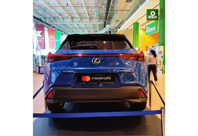 Рассчитайся в Браво при помощи Mastercard и уезжай на новом Lexus