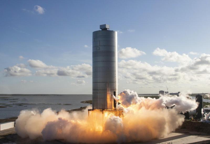 SpaceX Илона Маска запустила новый прототип межпланетной ракеты