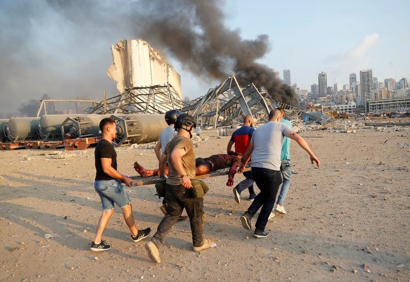 Шесть граждан Турции получили ранения при взрыве в Бейруте